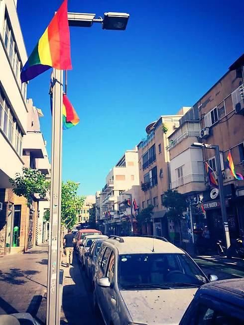 Sheinkin Street (Photo: Gregor Shluser)