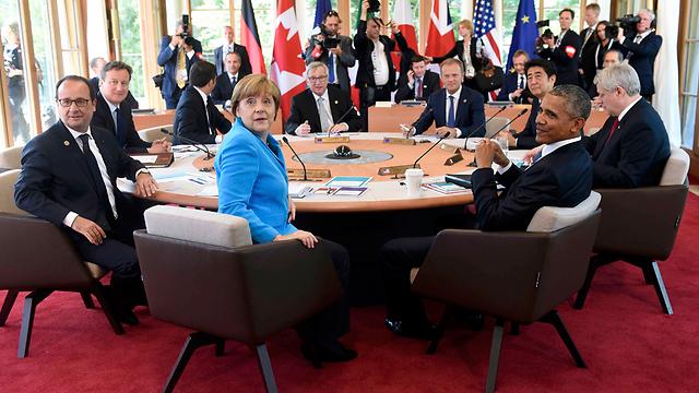 מועדון אקסלוסיבי וסגור רק למדינות? מנהיגי שבע המדינות המתועדות בעולם (צילום: רויטרס) (צילום: רויטרס)