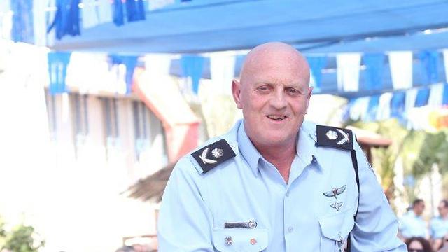 ברונו שטיין בעת ששימש כניצב במשטרה (צילום: מוטי קמחי) (צילום: מוטי קמחי)