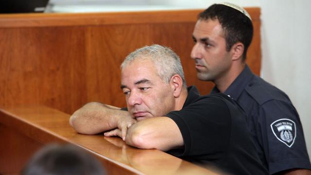 רונאל פישר, הבוקר בבית המשפט (צילום: גיל יוחנן) (צילום: גיל יוחנן)