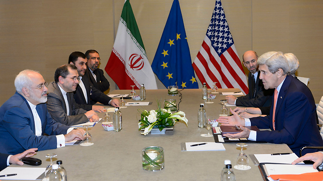 The Iran talks in Switzerland (Photo: AP) (Photo: AP)