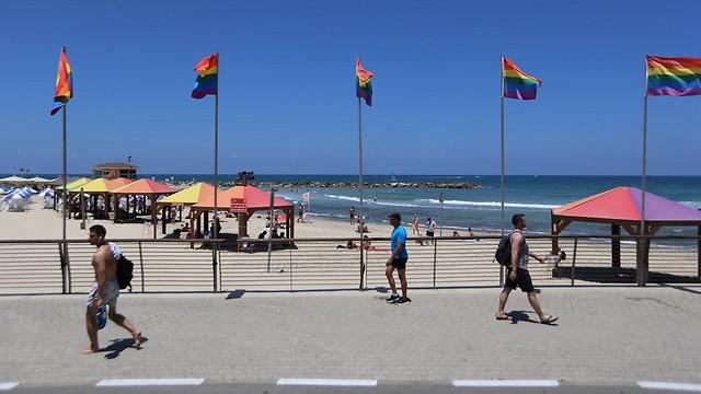 Hilton beach (Photo: Yaron Brener)