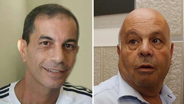 סיידוף ידע ולא דיווח על שמואל (משמאל) (צילום: גיל יוחנן) (צילום: גיל יוחנן)