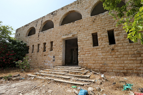 Sa-Nur's main structure now stands empty and deserted (Photo:Zvika Tishler)