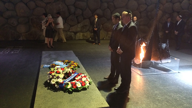The Seattle delegation at Yad Vashem