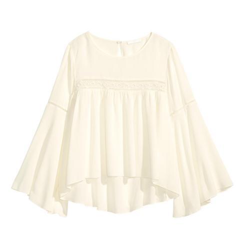 מושלמת לחצאית פרחונית. הפלוס: היא מטשטשת את מה שצריך. 199 שקלים H&M (צילום: הנס מוריץ)