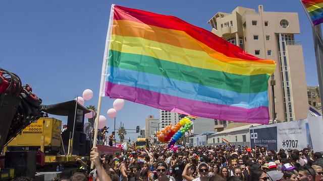 מצעד הגאווה, בשנה שעברה (צילום: עידו ארז) (צילום: עידו ארז)