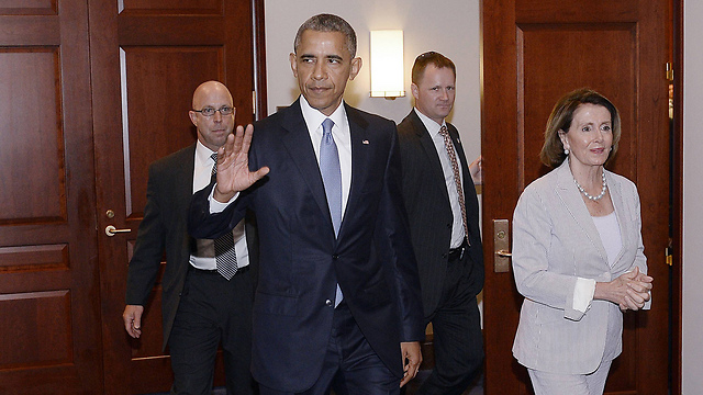 הנשיא אובמה (צילום: TNS) (צילום: TNS)