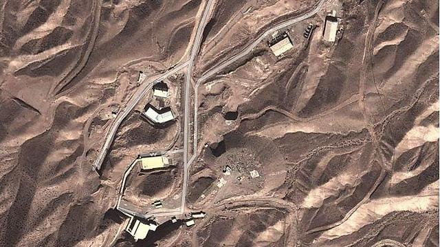 Iran's Parchin facility (Photo|:Google Earth, GeoEye)