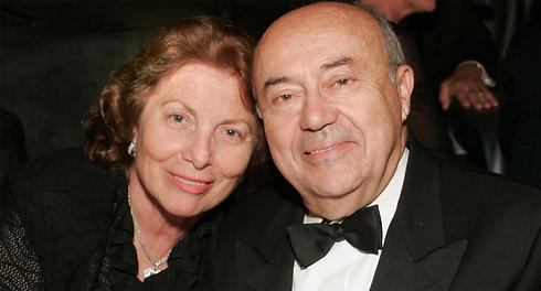 פרופסור פרופסור אנדרו ויטרבי ורעייתו המנוחה ארנה פינצ'י ויטרבי (צילום: סטיב קון) (צילום: סטיב קון)