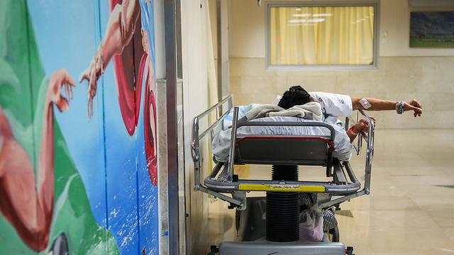 """בית החולים רמב""""ם בחיפה. ארכיון  (צילום: אבישג שאר-ישוב) (צילום: אבישג שאר-ישוב)"""