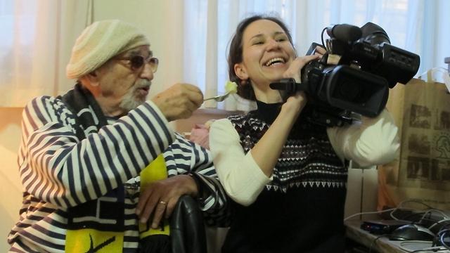 The film's producers Maria Kravchenko and Herz Frank