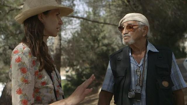 Director Herz Frank with Larisa Trembovler