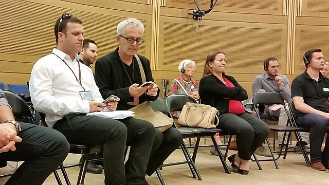 אבי לן בדיון בכנסת (צילום: אלי מנדלבאום) (צילום: אלי מנדלבאום)
