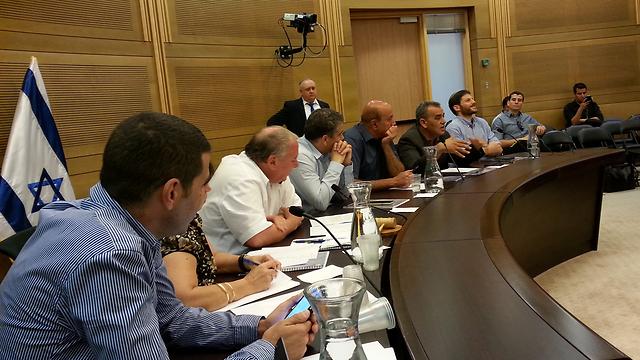 ועדת הפנים, היום (צילום: דוברות הכנסת) (צילום: דוברות הכנסת)