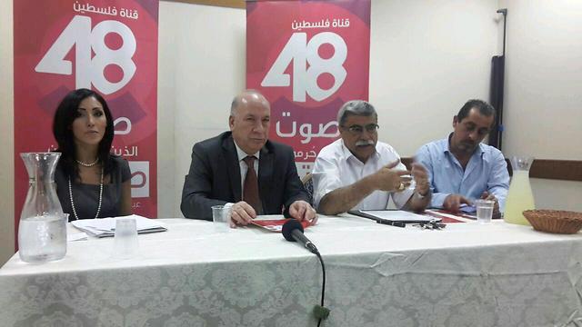 The celebratory press conference