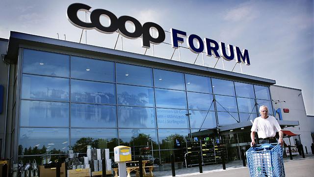 COOP store in Sweden.