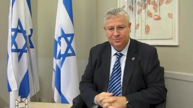 Israeli Ambassador to Sweden Isaac Bachman
