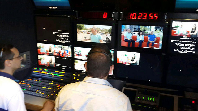 Control room at the new channel (Photo: Hassan Shaalan)