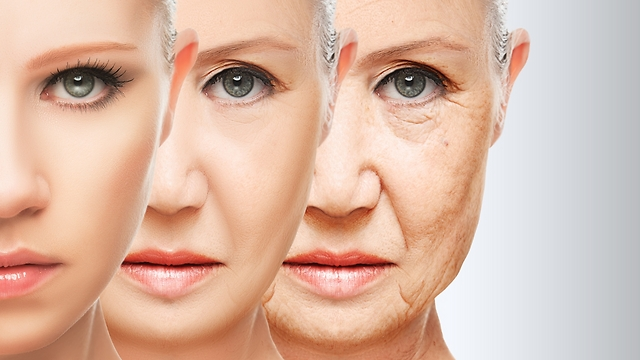קצב הזדקנות העור. אורח החיים משתקף פנים (צילום: shutterstock)