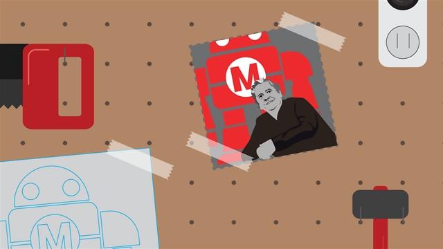 המייקר יכול להיות איש טכנולוגיה, אך יכול גם להיות נגר וגנן, מעצב או בנאי (איור: באזהאנטר, סוכנות קריאייטיב)