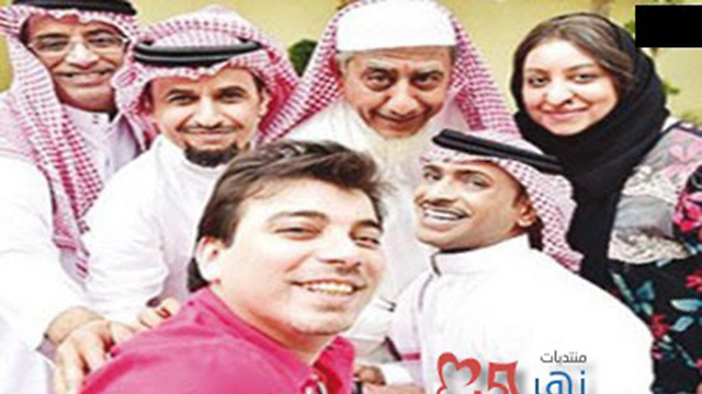 """""""סלפי"""" הסעודית. כוכב הסדרה קיבל איומים על חייו ()"""