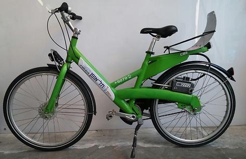 אופני תל אופן דור ישן, שימו לב לשלדה (מנחם רייס) (מנחם רייס)