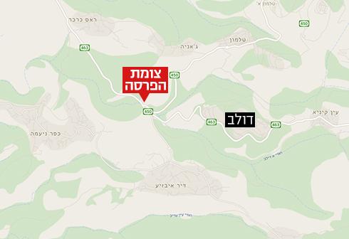 אזור תקרית הירי (צילום: google maps) (צילום: google maps)
