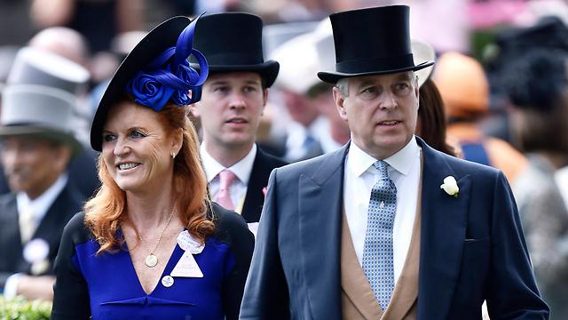 ביחסים טובים. שרה פרגוסון (פרגי) עם הגרוש שלה הנסיך אנדרו (צילום: רויטרס) (צילום: רויטרס)