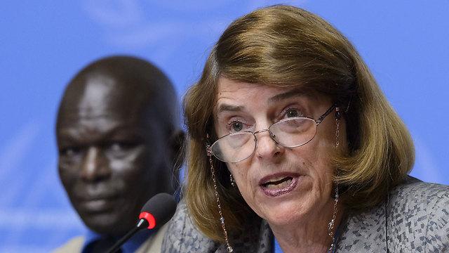 UN investigator Mary McGowan Davis. (Photo: AFP) (Photo: AFP)