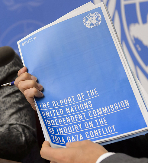The UN report (Photo: AFP) (Photo: AFP)