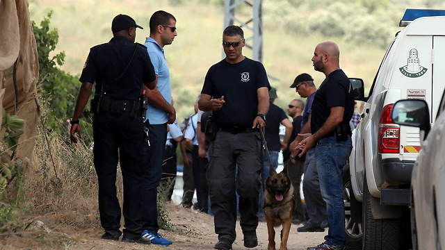 Scene of the murder. (Photo: Yariv Katz) (Photo: Yariv Katz)
