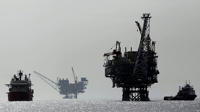 Gas field owned by Delek near Ashdod (Archive photo: Reuters)