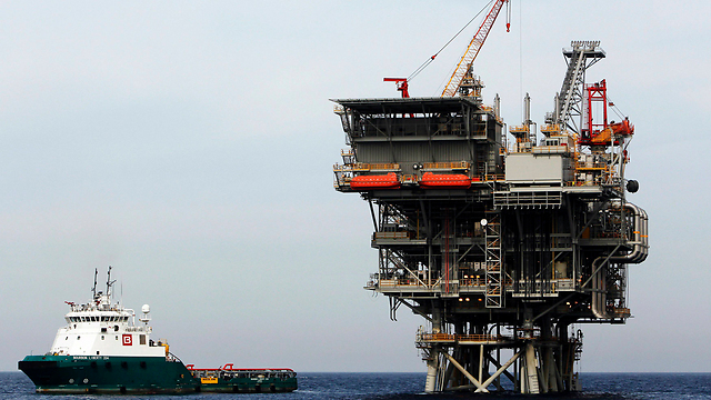 One of Israel's offshore gas rigs (Photo: Reuters)