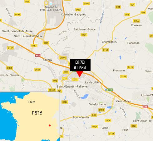 אזור המתקפה (צילום: google maps) (צילום: google maps)