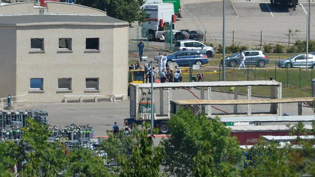 המפעל שבו התרחש הפיגוע (צילום: MCT) (צילום: MCT)