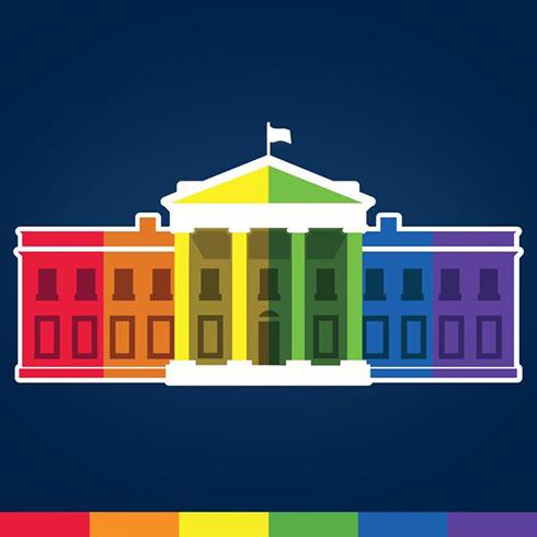 גם תמונת הבית הלבן בטוויטר הוחלפה כמתבקש ()