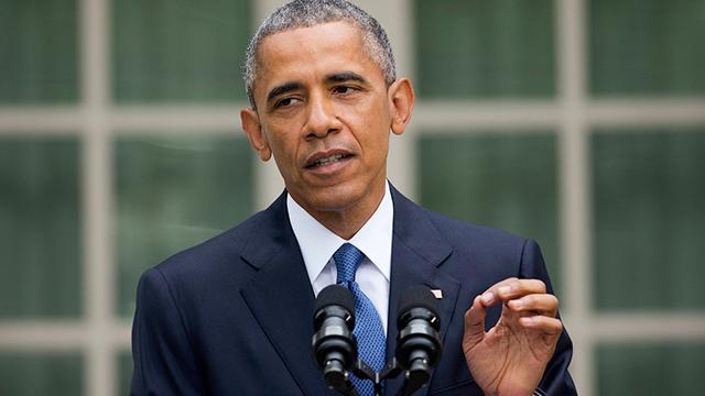 """""""האהבה מנצחת"""". אובמה (צילום: AP) (צילום: AP)"""