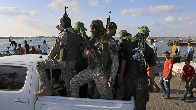 'Decision to take over the Strip is not made by Hamas' military wing' (Photo: AP)