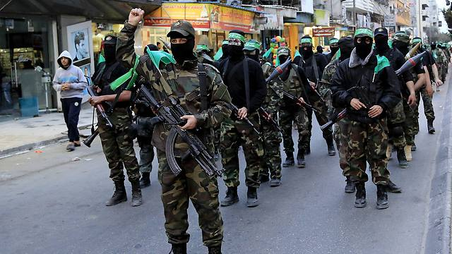 Members of the Izz ad-Din al-Qassam Brigades (Photo: AP)