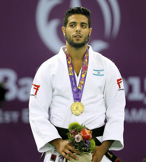 Judo champ Sagi Muki (Photo: EPA)