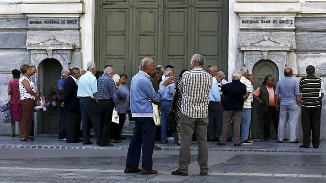 הבנקים נותרו סגורים  (צילום: רויטרס) (צילום: רויטרס)