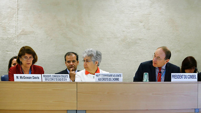 The UN Human Rights Council discussing the report (Photo: Reuters)