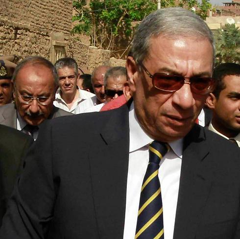 התובע הכללי לשעבר של מצרים ברכאת (צילום: AP) (צילום: AP)