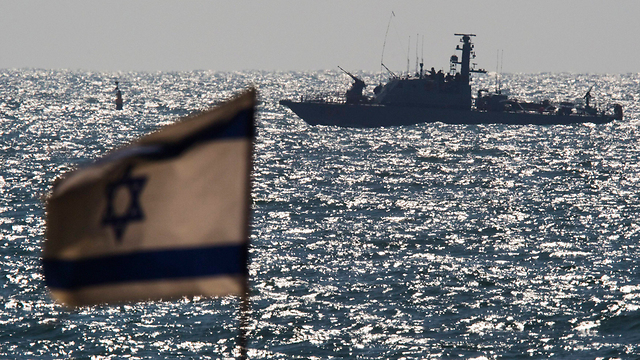 Navy ship in Ashdod (Photo: Reuters)