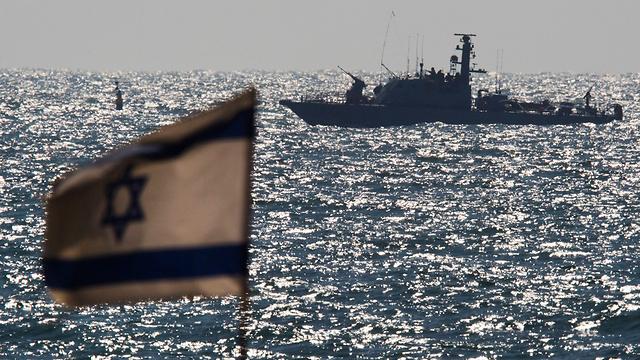 ספינת חיל הים באשדוד (צילום: רויטרס) (צילום: רויטרס)