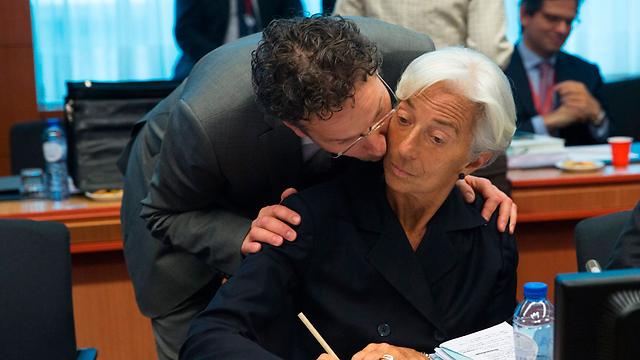 """הקרן לא תכריז מיד על חדלות פרעון. כריסטין לגארד, יו""""ר קרן המטבע הבינלאומית (צילום: רויטרס) (צילום: רויטרס)"""