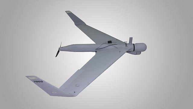 The K1 kamikaze drone (Photo: Aeronautics)