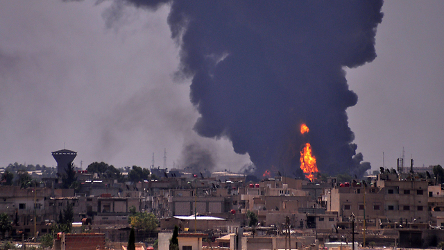 Attack in Syria (File photo: AFP) (Photo: AFP)