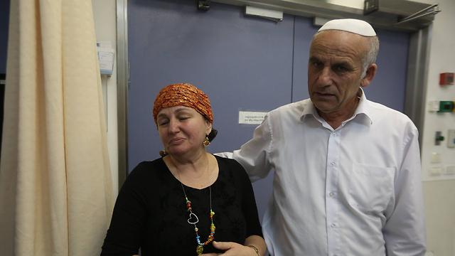 Parents of Malachi Rosenfeld (Photo: Gil Yohanan)
